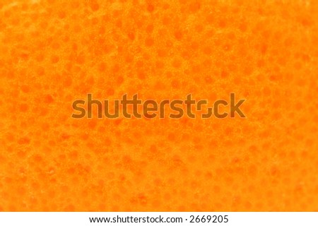 Close-up of orange skin