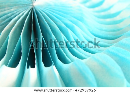 Close up of paper lantern, party decoration #472937926