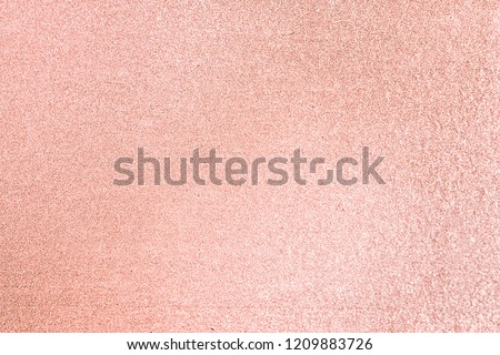Close up of pink blush glitter textured background #1209883726