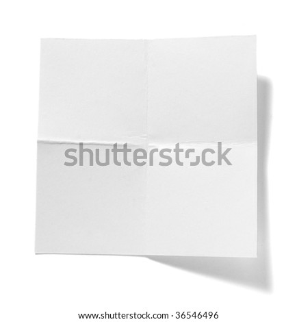 close up of  reminder notebook on white background with clipping path #36546496