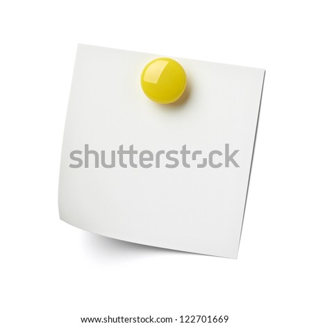 close up of reminder on white background refrigerator