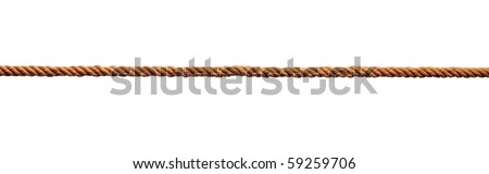 close up of rope part on white background #59259706