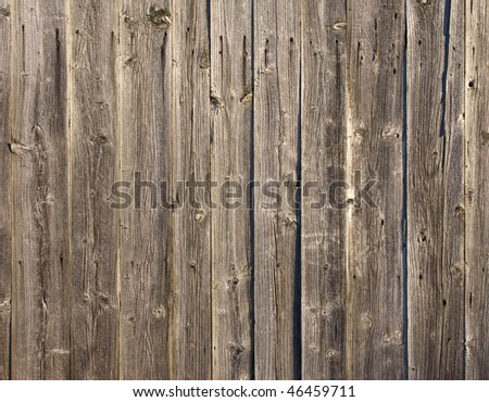 Close up of rough weathered wooden boards background