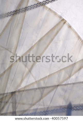 Close up of Sail