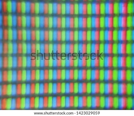 Close up of TFT monitor #1423029059