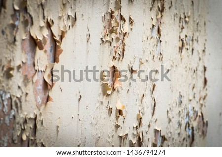 close up of the abstract walls - wallpaper design & bricks #1436794274