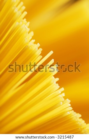 Close up of the background Spaghetti