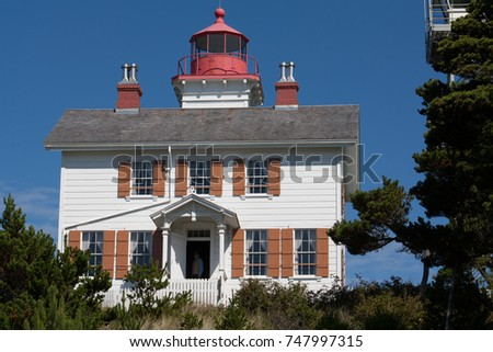 Close up of the light house #747997315