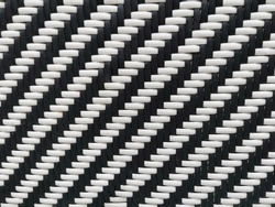Close up of the pattern of wickerwork made from artificial rattans for background