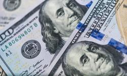 close up of USA banknotes, 100 us dollar note, 50 us dollar notes, 20 us dollar notes