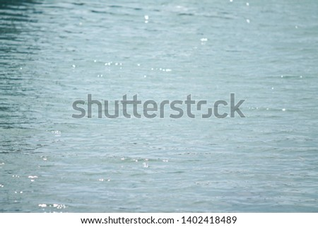 Close up of water glistening in sun