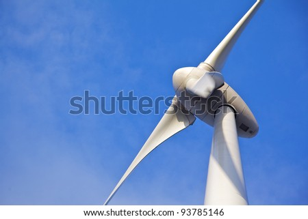 Close up of Windturbine