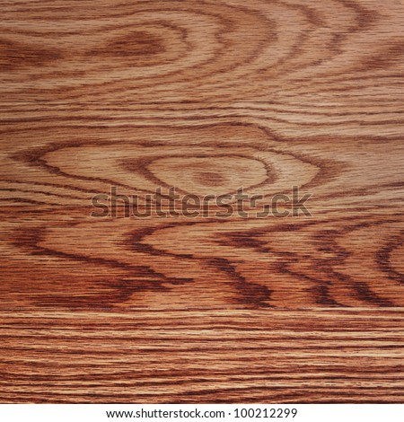 Close up of wood floor texture with strong grain.