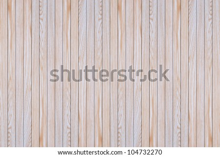 Close up of wooden panels