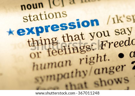word expresion