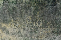 Close up Old texture Chinese Green Glazed Pottery