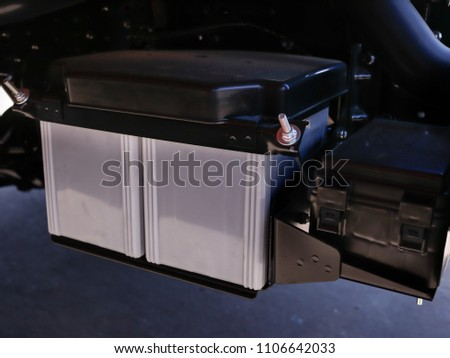 Free Photos Close Up On New Small Eco Car Battery Installed In The