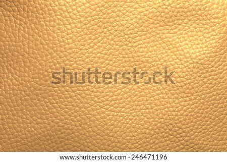 Close up photo of beige  color filtered leather surface texture style represent the surface background.