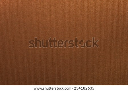 Close up photo of copper color filtered leather surface texture style represent the surface background.