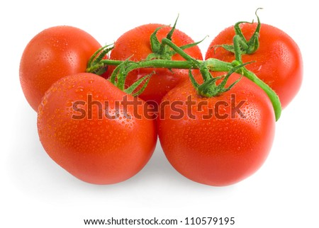 Close-up photo of tomatoes
