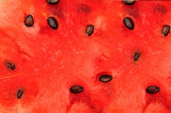 close up picture of Water melon back ground