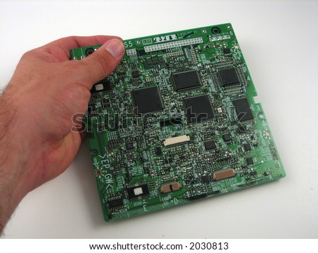 Close up pictures of electronics boards