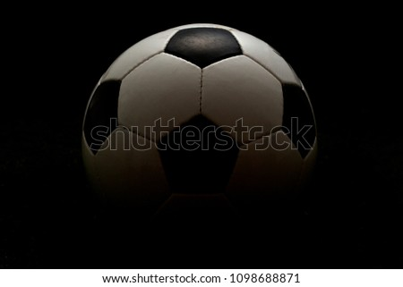 close up pictures of soccer ball on the grass field