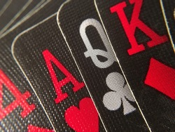 Close Up - Playing Cards