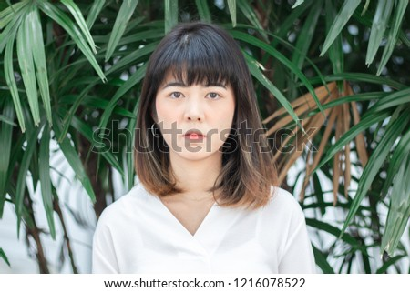 Interesting question asian teen girl face close up there can