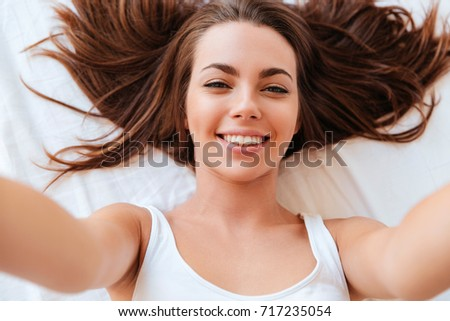 close up portrait of a smiling...