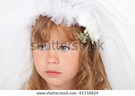 Wedding Dress for Little Girls