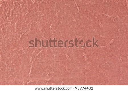close up red mulberry paper  texture - stock photo