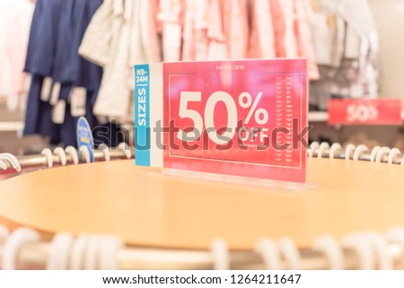0d09730f60 Sale   Special Offer Up To 50% Off Images and Stock Photos - Page  3 ...
