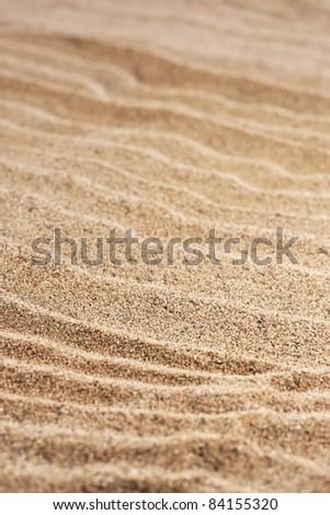 close up  sand background