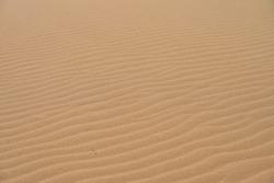 Close up sand desert pattern