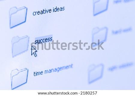 close up shot of a laptop screen, shallow DOF, focus on  cursor
