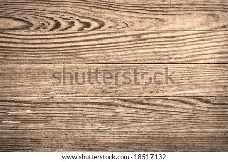 Close up shot of an old wood texture.
