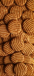close up shot of butter cookies, cashew nuts and butter cookies wallpaper of cookies
