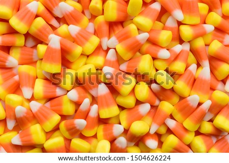 Close-up shot of corn candy