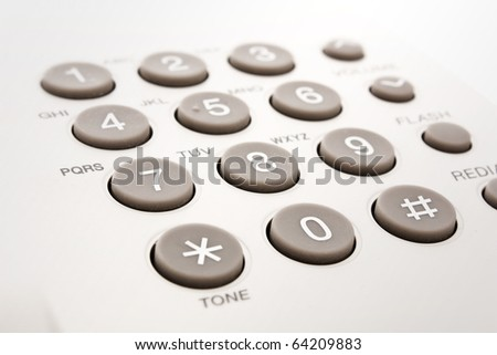 close up shot of grey phone keypad