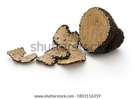 close up shot of sliced fresh black truffle Сток-фото ©