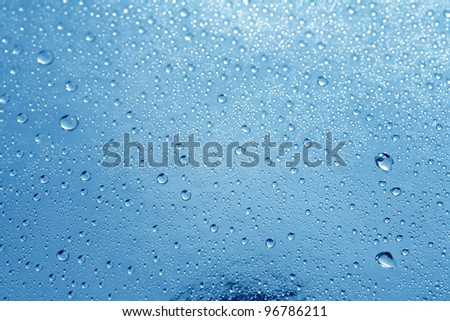 close up shot of water droplets on windows
