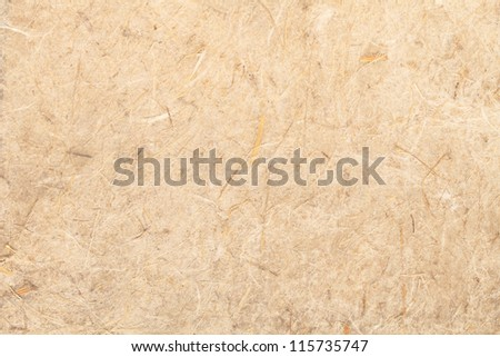close up shot on mulberry paper texture for background or backdrop