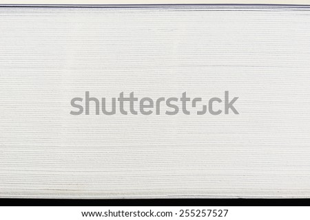 close up side view of stack papers Сток-фото ©