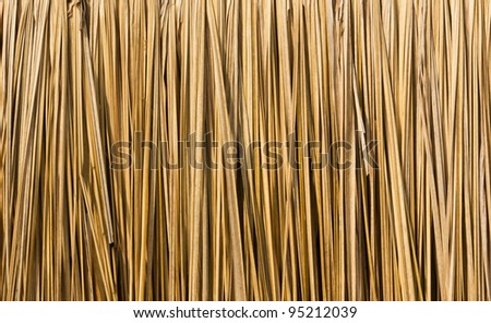 Close up straw background. Texture of straw
