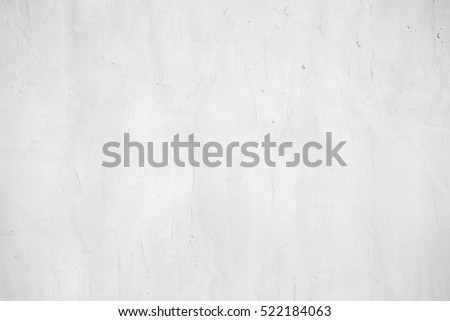 close up surface detail of old rough white plaster wall texture, light grunge concrete finishing background or backdrop for architecture design element and interior material decoration concepts #522184063