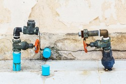 Close up tab water valves with out water meter