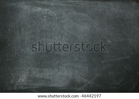 close up texture of Blank chalkboard.