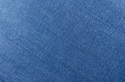 Close up Texture of denim or blue jeans background