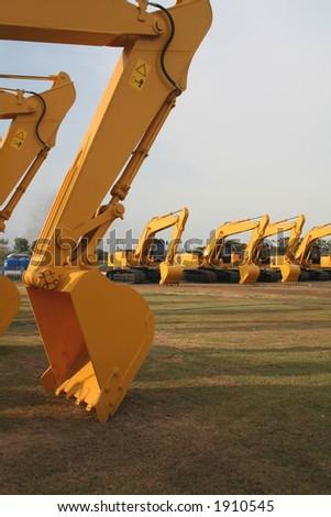 Close-up tractors